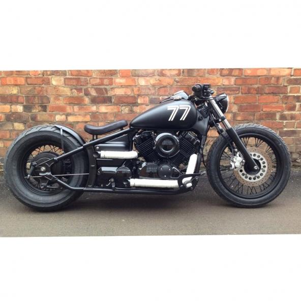 77 Yamaha bobber